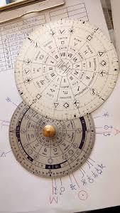 ภาพจากคำนวณ 360องศา ที่ผมพัฒนา เปรียบเทียบกับ จานคำนวณ Original